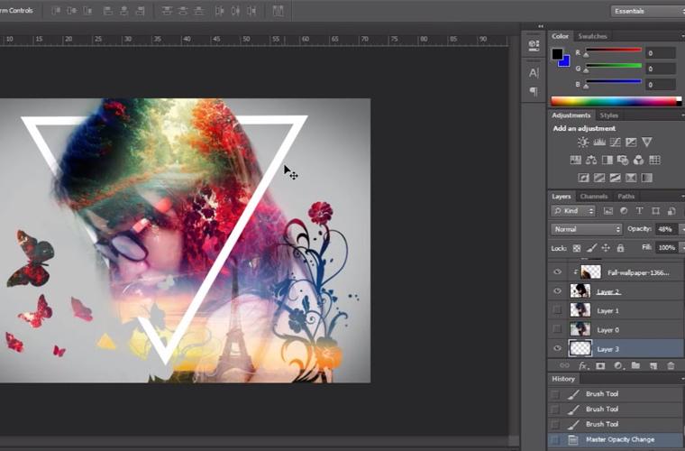 Sakondu Adobe Photoshopeko ezagutzak