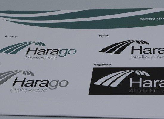 Harago Aholkularitza: marka irudiaren estilo liburua