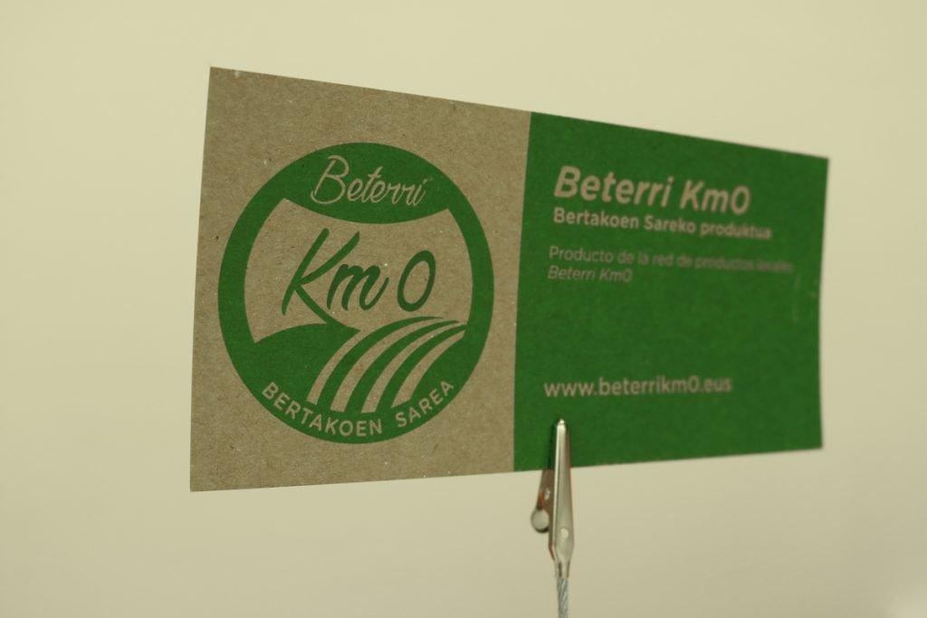 Beterri Km0 produktuak identifikatzekoa