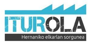 Iturola Hernaniko elkarlan sorgunearen logotipoa